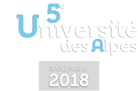 5e Université des Alpes, rendez-vous en 2018